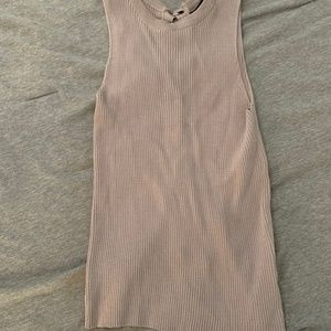 Olivaceous Tops - Olivaceous Grey Knit Tank Top - NWT